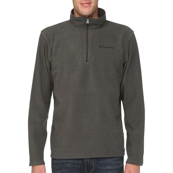 longboard veste sweat zipp e polaire homme gris achat vente sweatshirt 3606503509919
