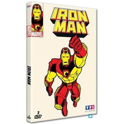 Dvd coffret integrale iron man en dvd dessin anim pas cher cdiscount - Iron man en dessin anime ...