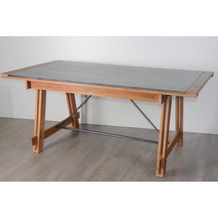 Table 180cm Atelier Meuble House Achat Vente Table A Manger Seule Table 180cm Atelier