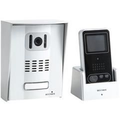 portier audio video sans fil 200m bodner achat vente interphone visiophone cdiscount. Black Bedroom Furniture Sets. Home Design Ideas