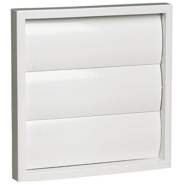 grille plastique carr e volet pour rejet d 39 air 140 x 140 mm achat vente a ration. Black Bedroom Furniture Sets. Home Design Ideas
