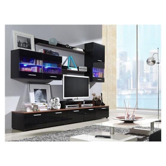 Meuble tv design logi noir et bordeaux achat vente meuble tv meuble tv de - Meuble design bordeaux ...