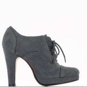 bottines femme grises talon 9 5cm achat vente bottines femme grises talon gris pas cher. Black Bedroom Furniture Sets. Home Design Ideas