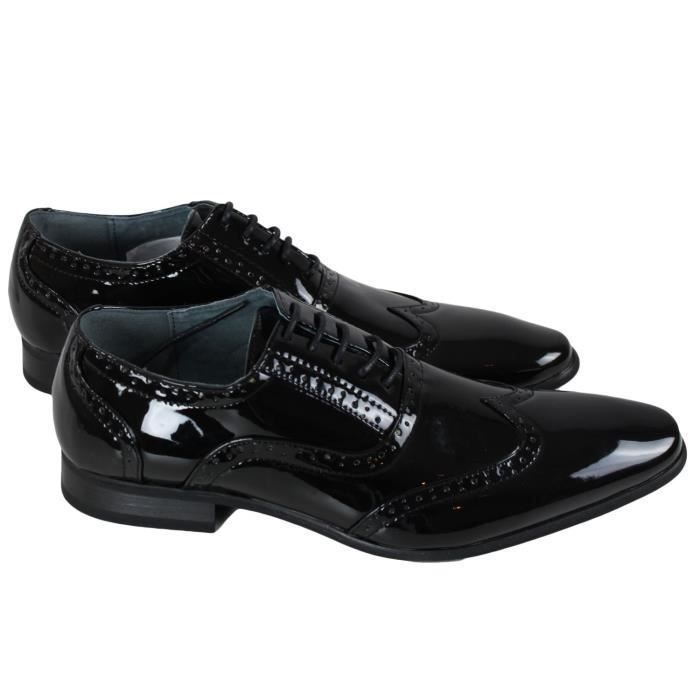 chaussures homme noir verni achat vente pas cher les soldes sur cdiscount cdiscount. Black Bedroom Furniture Sets. Home Design Ideas