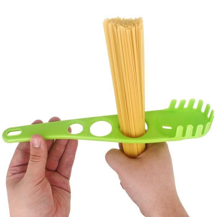 cuill 232 re a spaghetti 2en1 doseur mesureur de portion 3 personnes design city vert achat