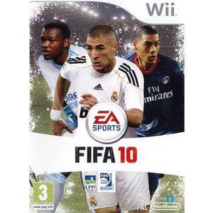 JEUX WII FIFA 10 / JEU CONSOLE NINTENDO Wii