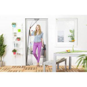 moustiquaire porte a lamelles achat vente moustiquaire porte a lamelles pas cher cdiscount. Black Bedroom Furniture Sets. Home Design Ideas