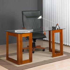 bureau treteau achat vente bureau treteau pas cher cdiscount. Black Bedroom Furniture Sets. Home Design Ideas