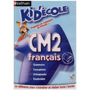 LOGICIEL LOISIRS Kid ' Ecole CM2 Français - PC -  VF