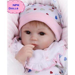 POUPON 18 pouces belle poupée reborn pour le cadeau bébé