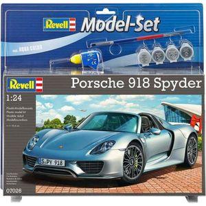VOITURE À CONSTRUIRE REVELL Model Set Porsche 918 Spyder Maquette à Con