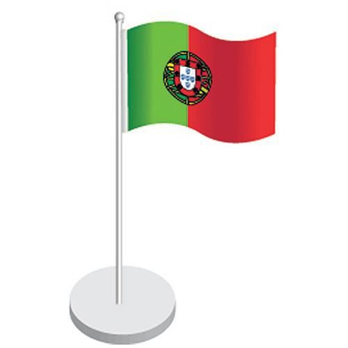 Drapeau portugal centre de table 20cmx11cm achat vente for Decoration maison portugal