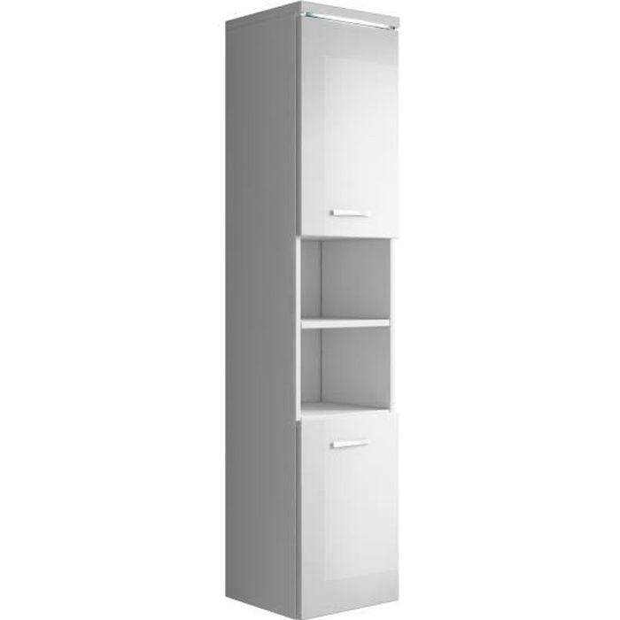 armoire de rangement de paso hauteur 160 cm blanc