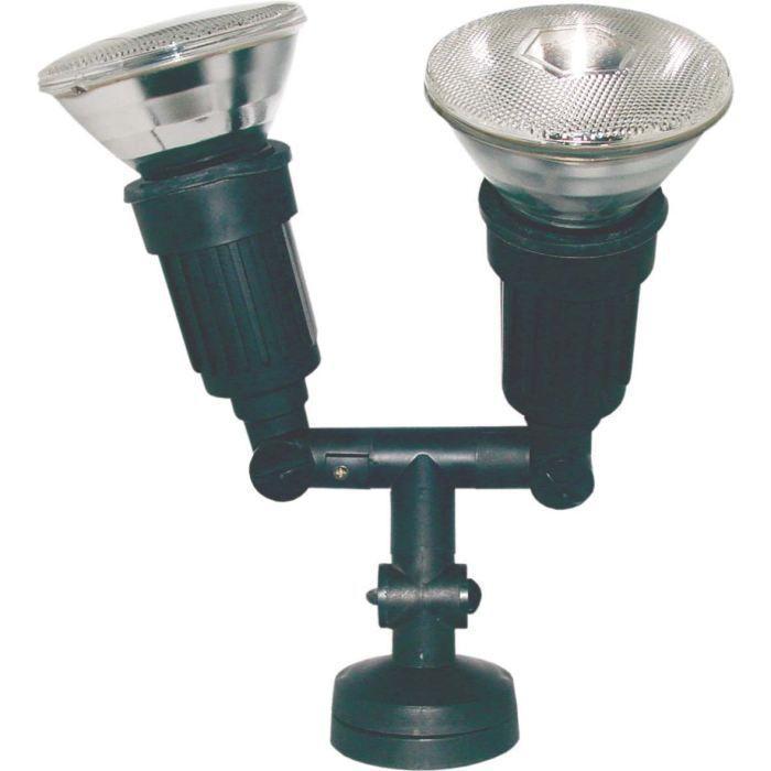 Projecteur tanche double achat vente projecteur for Projecteur exterieur double