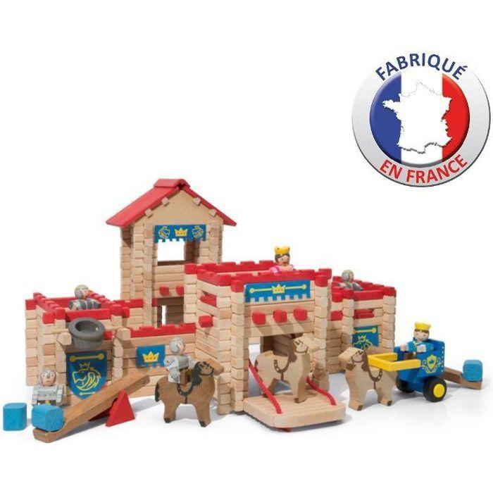 papo 39137 jouet en bois chateau d excalibur. Black Bedroom Furniture Sets. Home Design Ideas