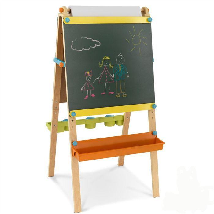 KidKraft Chevalet d'artiste avec rouleau de papier Achat / Vente
