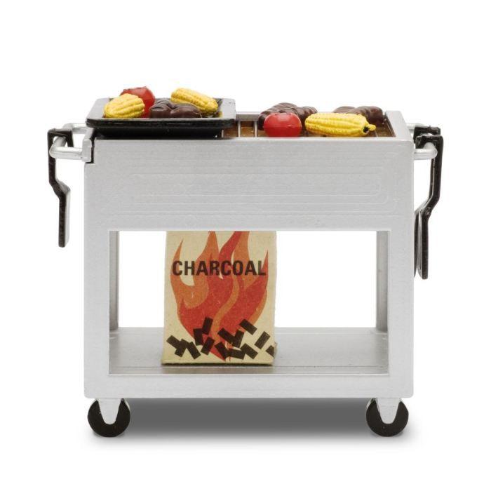 Lundby kit barbecue pour maison de poup es achat - Maison de poupee lundby ...