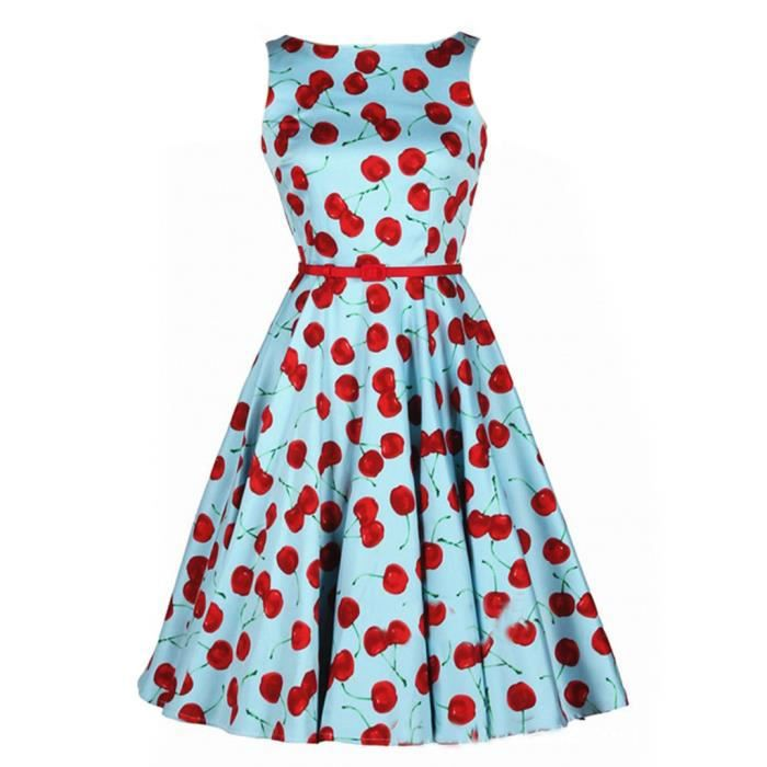 Pin robe pin up rockabilly vintage on pinterest - Robes annees 50 ...