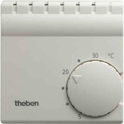 Thermostat int rieur chauffage refroidissement theben ram for Thermostat interieur
