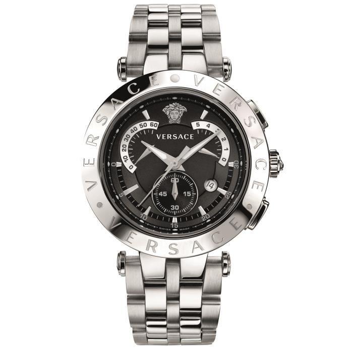 versace montre pour homme v race chrono 23c99d0 achat vente montre versace montre pour. Black Bedroom Furniture Sets. Home Design Ideas
