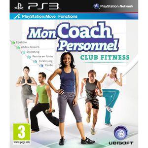 JEU PS3 MON COACH PERSONNEL-CLUB FITNESS / Jeu console PS3