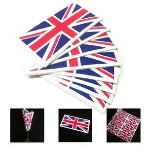 10 serviettes de table union jack drapeau anglais achat for Couvert de table en anglais