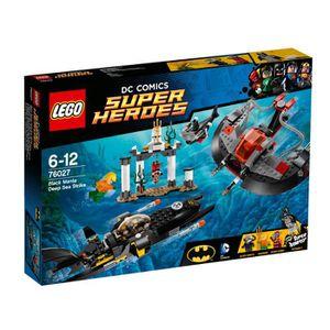 ASSEMBLAGE CONSTRUCTION LEGO® Super Heroes Batman 76027 L'Attaque de Black