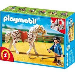 Box chevaux playmobil achat vente jeux et jouets pas chers - Pferde playmobil ...