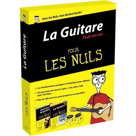 La guitare tout en un pour les nuls achat vente livre for Livre de cuisine pour les nuls