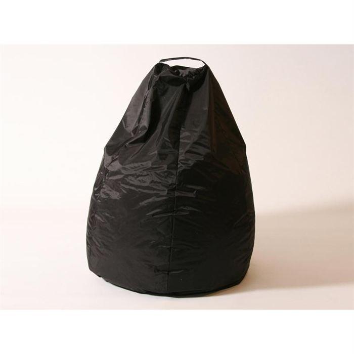 pouf poire nylon 260 l brun achat vente pouf poire. Black Bedroom Furniture Sets. Home Design Ideas