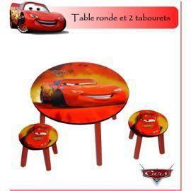 ensemble table 2 chaises tabouret disney cars achat vente table et chaise 8714143793027. Black Bedroom Furniture Sets. Home Design Ideas