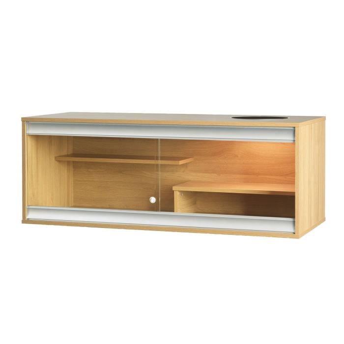 terrarium bois pour dragons barbus 115x49x43 cm achat vente vivarium terrarium terrarium. Black Bedroom Furniture Sets. Home Design Ideas