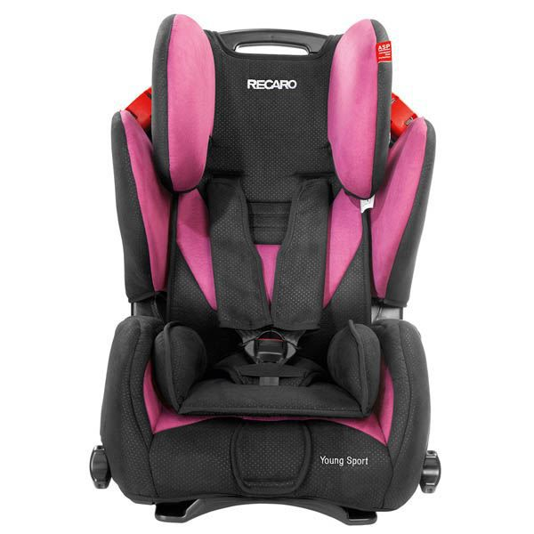 Si ge auto recaro young sport groupe 1 2 3 pink achat for Siege auto 1 2