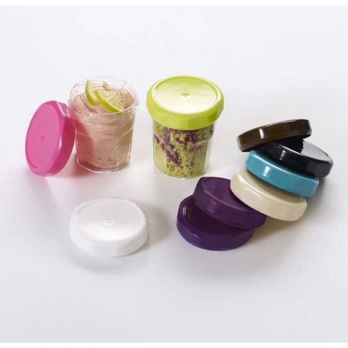 Mini pot de confiture avec couvercle 5 6 cm fuc achat vente bocaux mini - Couvercle pot de confiture ...
