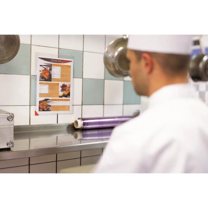 Pochette professionnelle adh sive tarifold l achat for Achat cuisine professionnelle