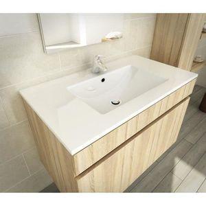 Simple vasque achat vente simple vasque pas cher for Ensemble meuble salle de bain 80 cm pas cher