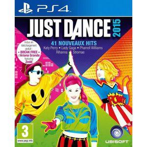 JEU PS4 Just Dance 2015 Jeu PS4