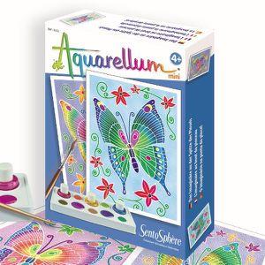 SENTOSPHERE Aquarellum Mini Papillons