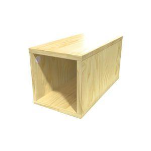 meuble cube bois achat vente meuble cube bois pas cher cdiscount. Black Bedroom Furniture Sets. Home Design Ideas