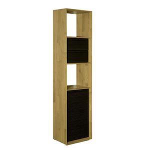 petit meuble chene clair achat vente petit meuble chene clair pas cher cdiscount. Black Bedroom Furniture Sets. Home Design Ideas