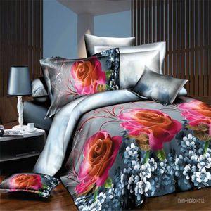 housse de couette 220x240 fleurs achat vente housse de couette 220x240 fleurs pas cher. Black Bedroom Furniture Sets. Home Design Ideas
