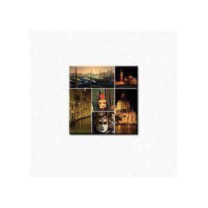 tableau pele mele venise plexiglas 50x50 cm achat. Black Bedroom Furniture Sets. Home Design Ideas
