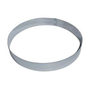 cercle inox entremet diametre 20cm hauteur inox cuisine autour de la patisserie. Black Bedroom Furniture Sets. Home Design Ideas