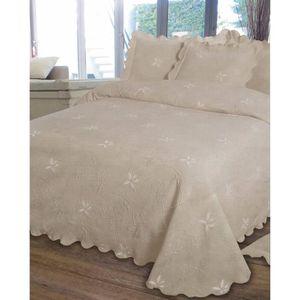couvre lit jet de lit achat vente couvre lit jet de lit pas cher cdiscount. Black Bedroom Furniture Sets. Home Design Ideas