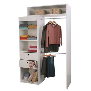 Dressing modulable achat vente dressing modulable pas cher cdiscount - Kit dressing extensible ...