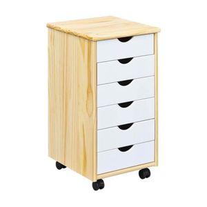 caisson bureau bois achat vente caisson bureau bois pas cher cdiscount. Black Bedroom Furniture Sets. Home Design Ideas