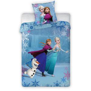 Housse de couette la reine des neiges achat vente - Parure de lit elsa la reine des neiges ...