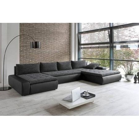 canap d 39 angle convertible capitonn p gase achat vente canap sofa divan pin panneaux. Black Bedroom Furniture Sets. Home Design Ideas