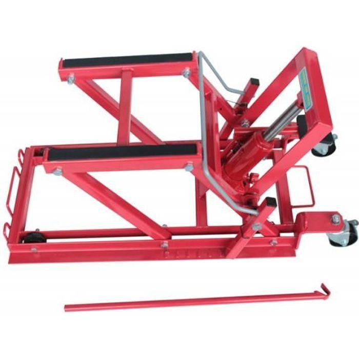 Pont l vateur 450kg plateforme l vatrice b quille d 39 atelier pour moto quad scooter - Table de levage moto occasion ...