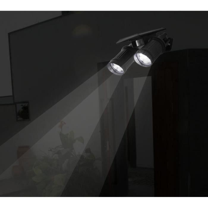 2pcs lampe solaire 14 led d tecteur de mouvement etanche d for Eclairage exterieur sans fil